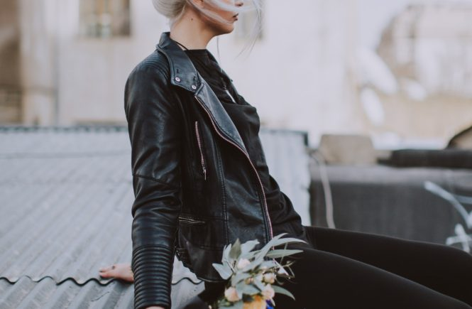 How to Wear Leather like a Street Style Blogger