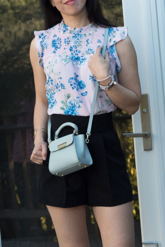 I am sharing over 18 floral tops from Stitch Fix and how I styled them. From distressed denim, platform sandals to mini purses, I love dressing up my Stitch Fix tops for spring. Keep reading to see how I styled my Stitch Fix tops for some stylish spring outfits.