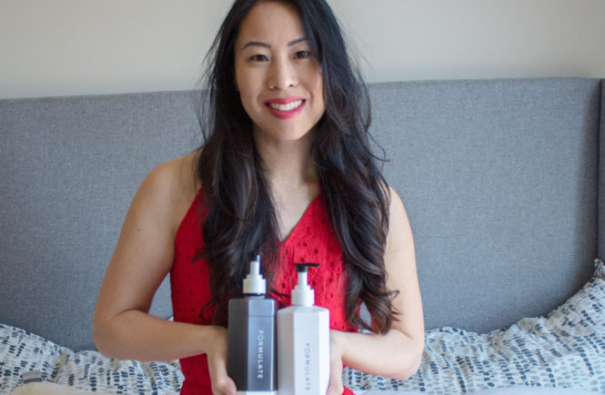Hair goals with Formulate hair care on My Favorite Hello blog