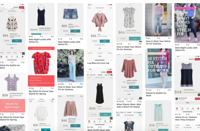 Tips for an Effective Pinterest Board for Stitch Fix