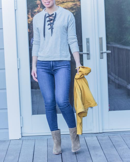 Stitch Fix Booties for fall
