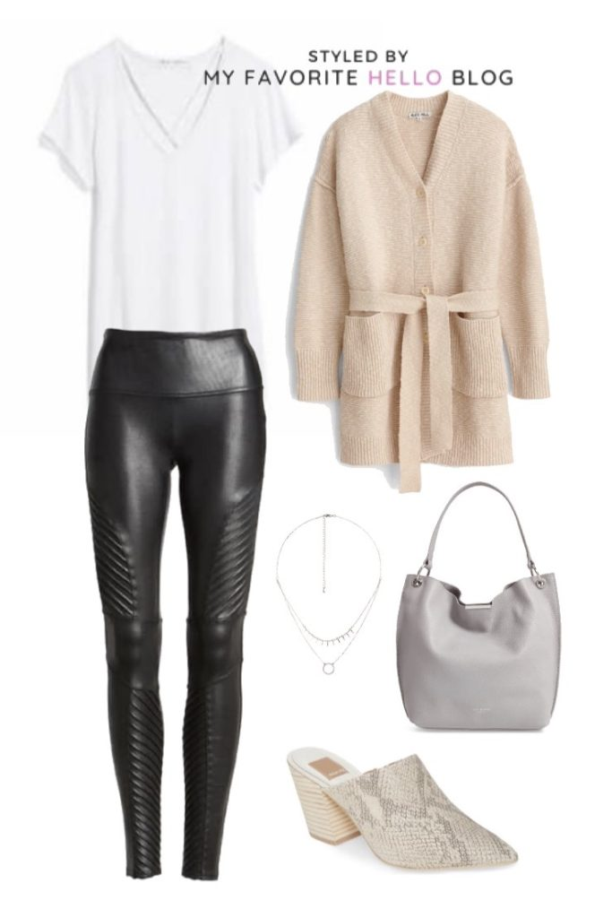 10 Ways to Style the Spanx Faux Leather Moto Leggings