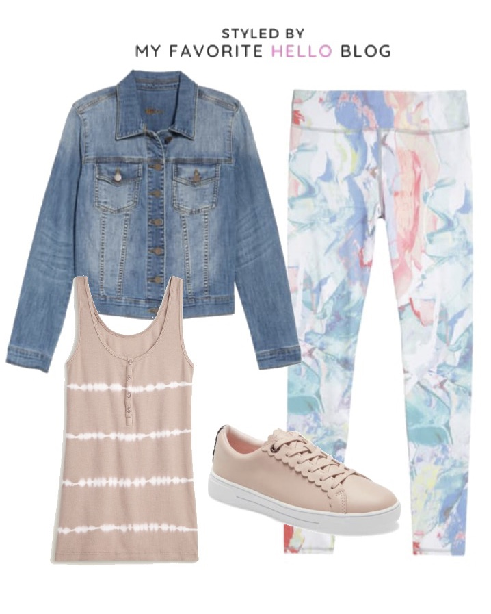 How to Style Printed Leggings for Summer