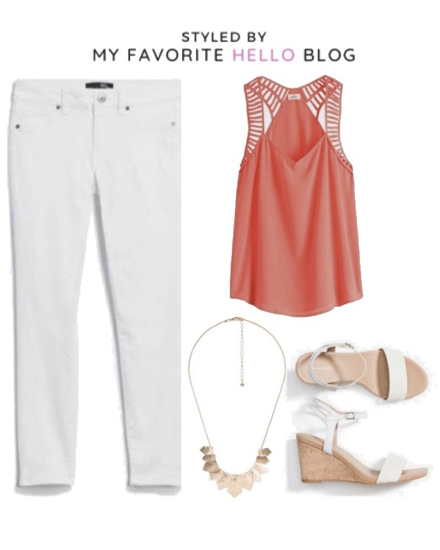 30 days of summer outfits with Stitch fix