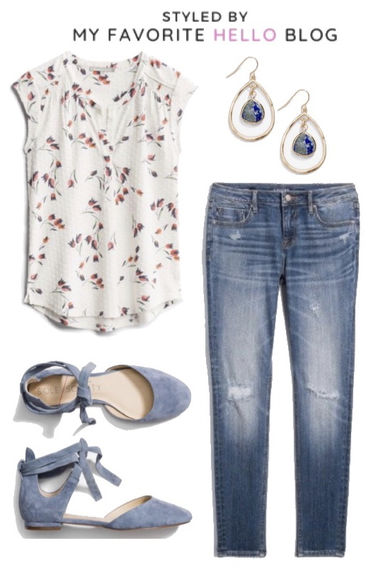 30 days of summer outfits with Stitch fi
