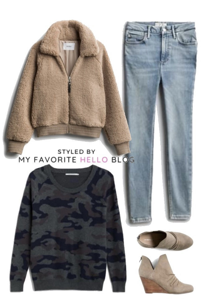 a month of stitch fix outfits for winter
