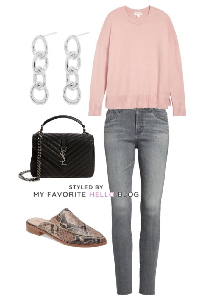 Winter and Spring Sweater Outfit Ideas