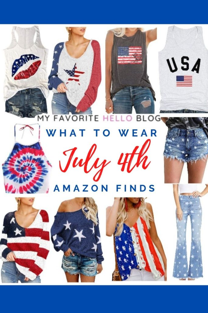 What to wear for July 4th