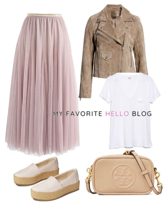 Tulle Skirt casual spring