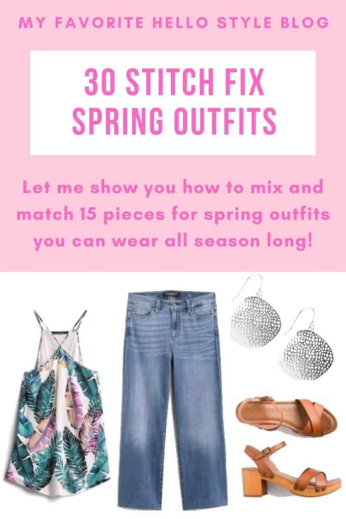 30 Stitch Fix Spring Outfits