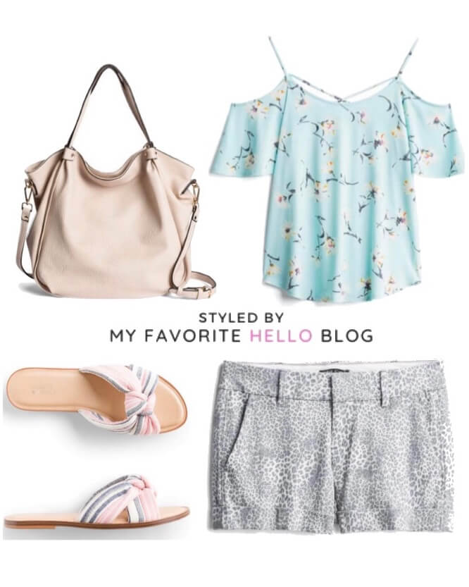 Stitch Fix summer outfit for brunch