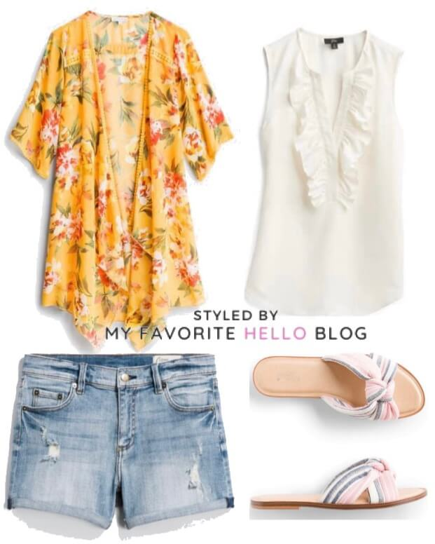 stitch fix summer outfit casual