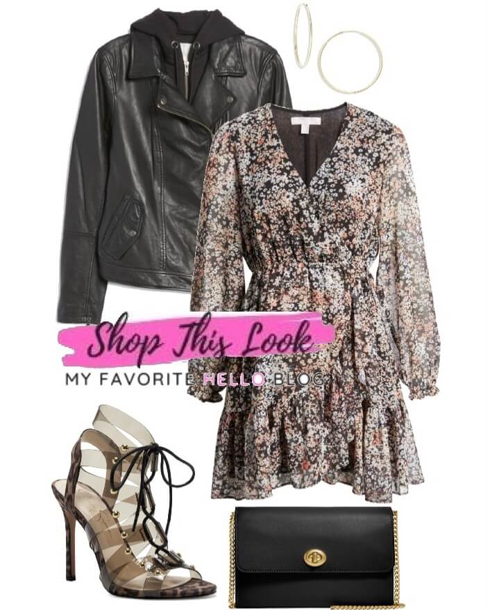 Edgy fall date night outfit