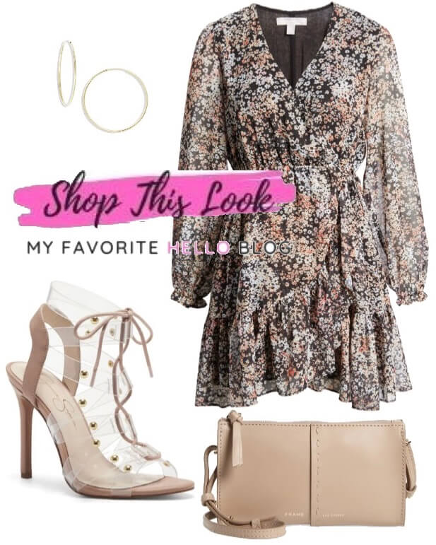 Floral Dress for date night