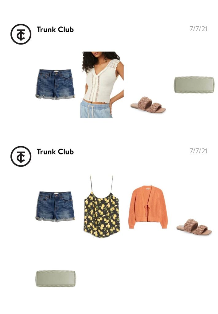 Trunk Club Outfits