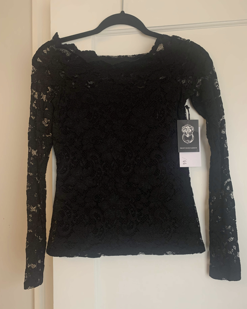 front door fashion lace tops