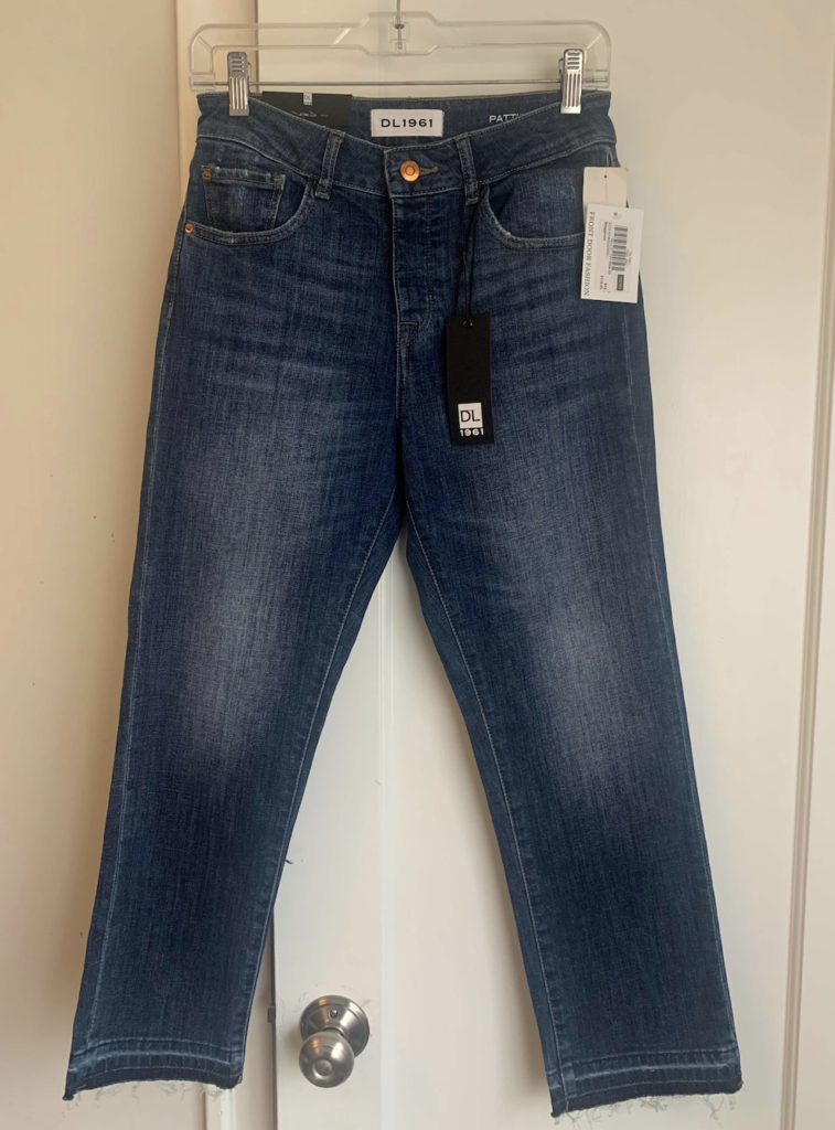 front door fashion cropped jeans